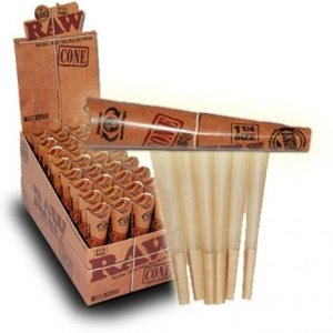 "RAW RAW 1.25"" CONES - 6 PACK"