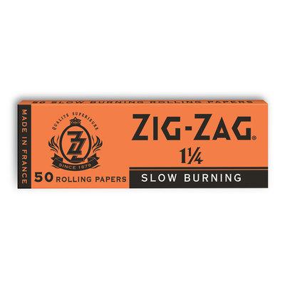 """ZIG-ZAG ZIG-ZAG ORANGE 1.25"""" ROLLING PAPERS - 50 PAPERS"""