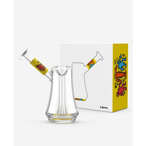 KEITH HARING KEITH HARING LIMITED EDITION BUBBLER - YELLOW