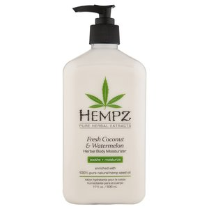 HEMPZ HEMPZ HERBAL BODY MOISTURIZER COCONUT & WATERMELON