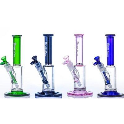 """HOSS GLASS HOSS 10"""" MINI STRAIGHT TUBE"""