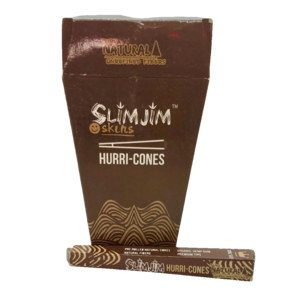 K10 K10 SLIM JIM NATURAL HEMP CONE - SINGLE UNIT