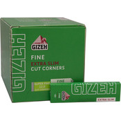 GIZEH GIZEH FINE SLIM REGULAR ROLLING PAPERS -66 PACK