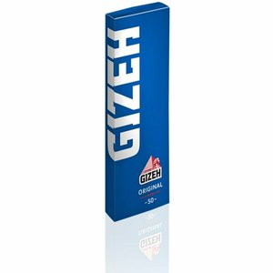 GIZEH GIZEH SINGLE WIDE ROLLING PAPERS - 50 PACK