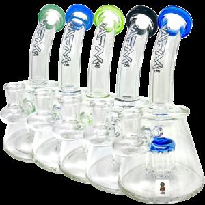 "AFM GLASS AFM GLASS 7"" MINI SHOWERHEAD PERC RIG"