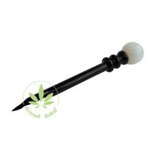 DAYTON Z GLASS DAYTON Z GLASS WIZARD DABBER - BLACK/WHITE