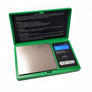 INFYNITI INFYNITI G FORCE GREEN DIGITAL SCALE - 100g x 0.01g