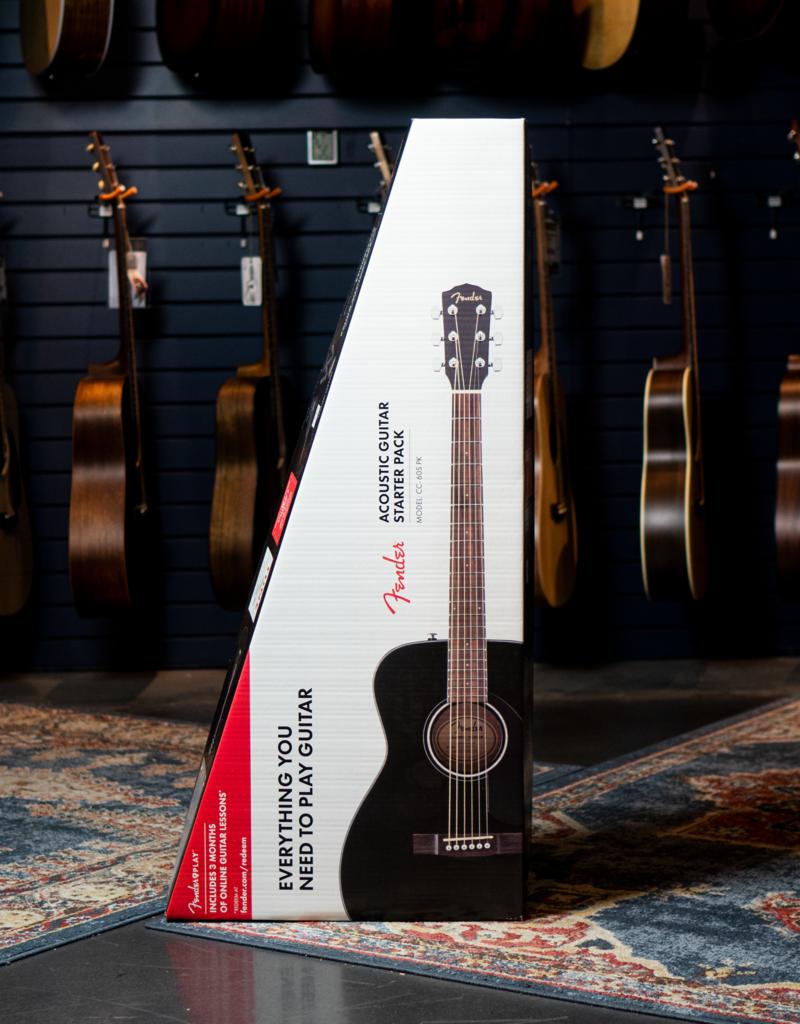 Fender Fender  CC-60S Concert Pack V2, Black Acoustic