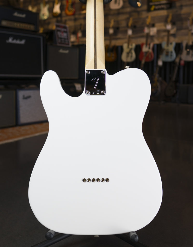 Fender Fender Player Telecaster Maple Fingerboard Polar White Electric