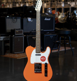 Squier Squier Affinity Series Telecaster, Laurel Fingerboard, Competition Orange Electric