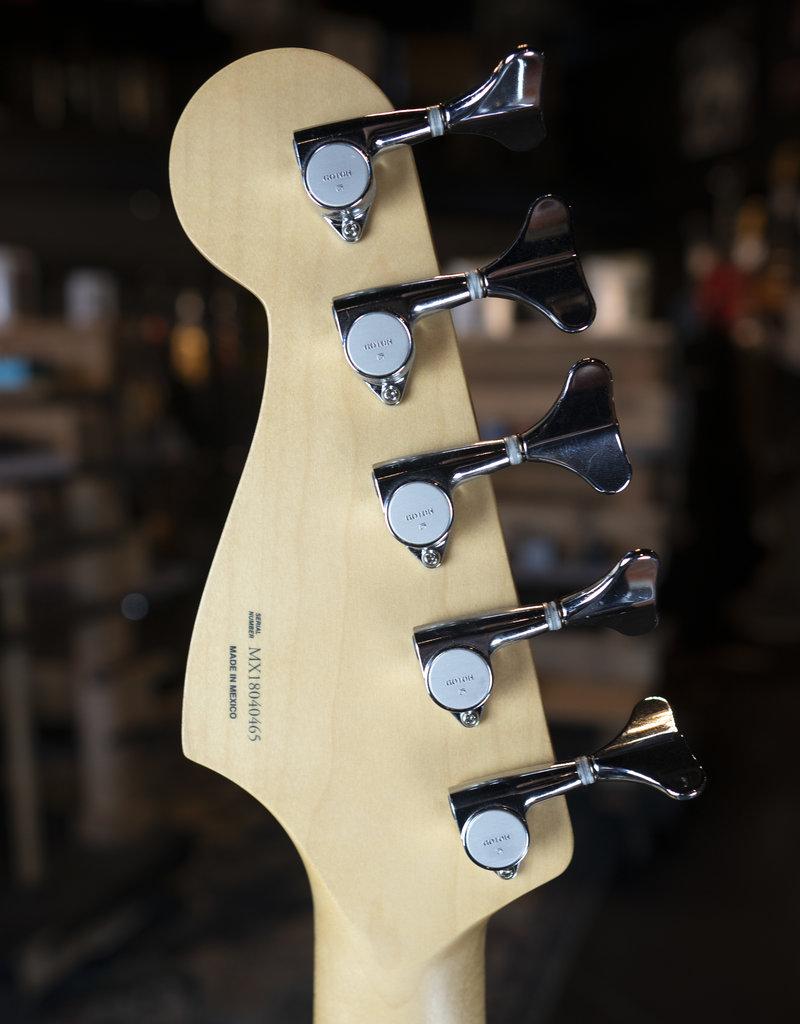 Fender Fender Deluxe Active Jazz Bass V, Pau Ferro Fingerboard, Surf Pearl