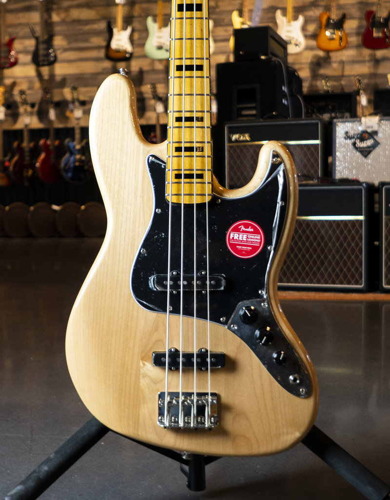 Squier Squier Classic Vibe '70s Jazz Bass, Maple Fingerboard, Natural