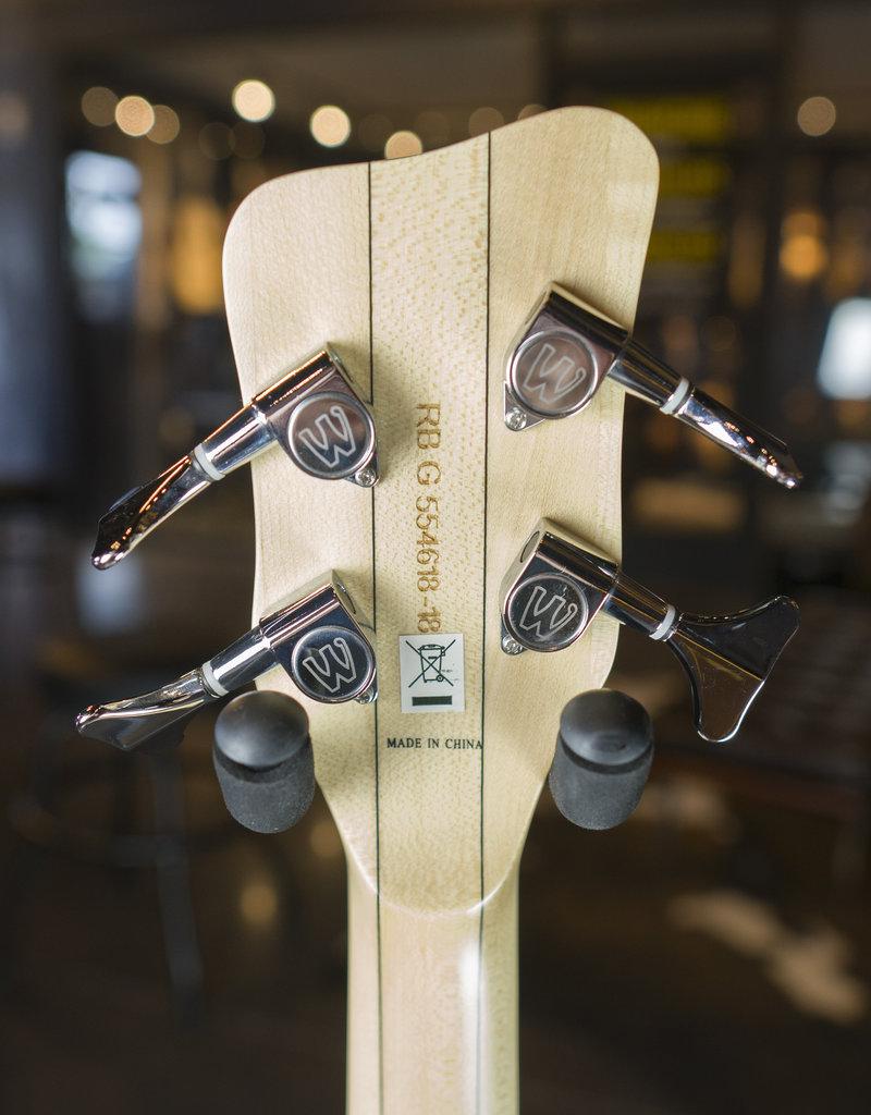 Warwick Warwick Rockbass Streamer Standard 4 Blk Satin
