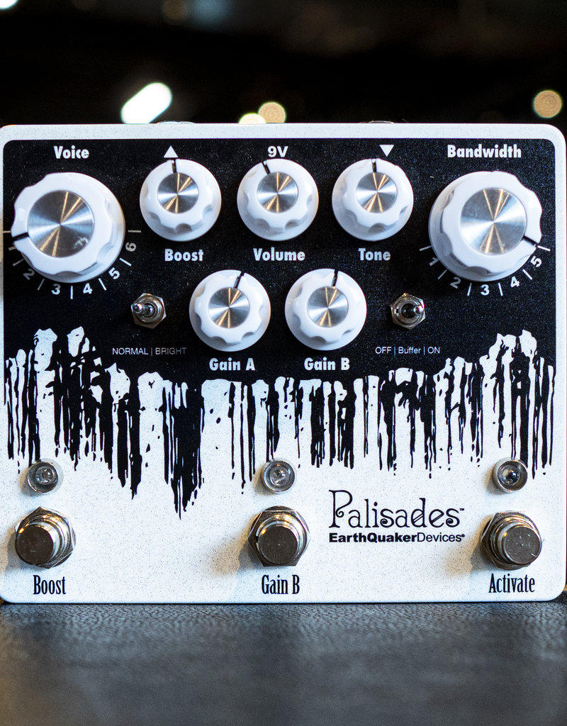 EarthQuaker Devices EarthQuaker Devices Palisades V2 Overdrive Pedal