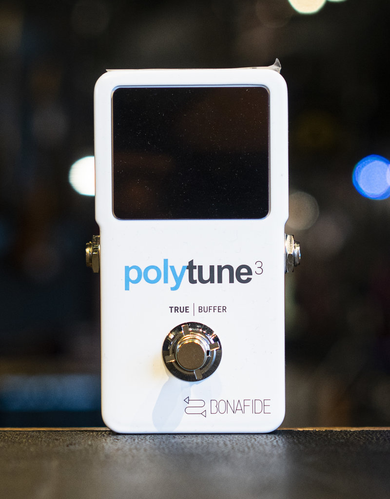 TC Electronic TC Electronic PolyTune 3 Polyphonic LED Guitar Tuner Pedal with Buffer