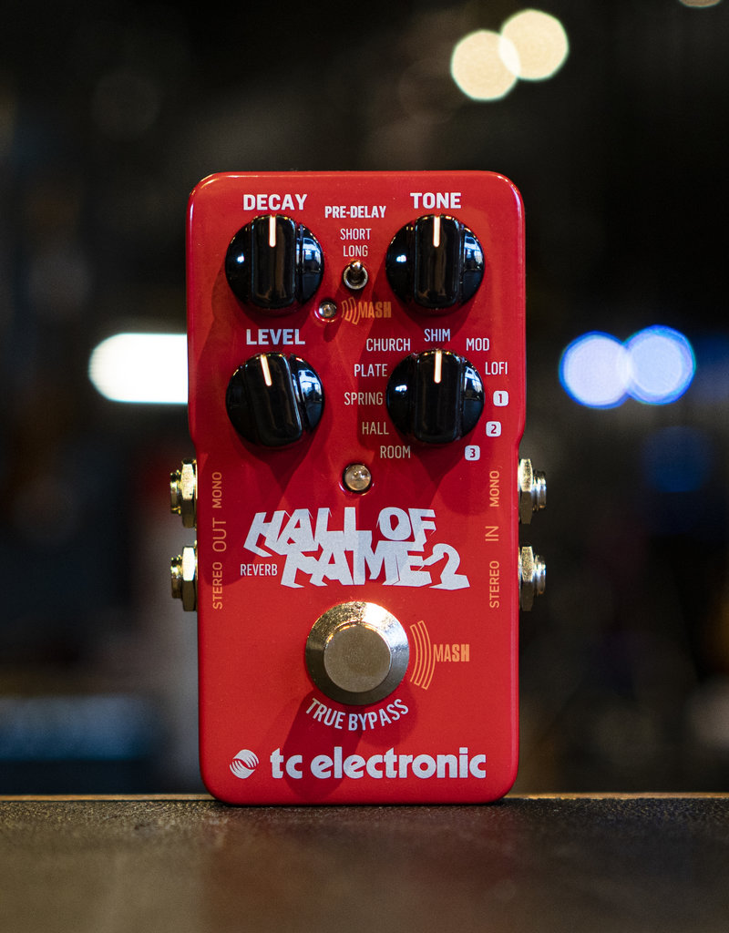 TC Electronic TC Electronic Hall of Fame 2 Reverb Pedal