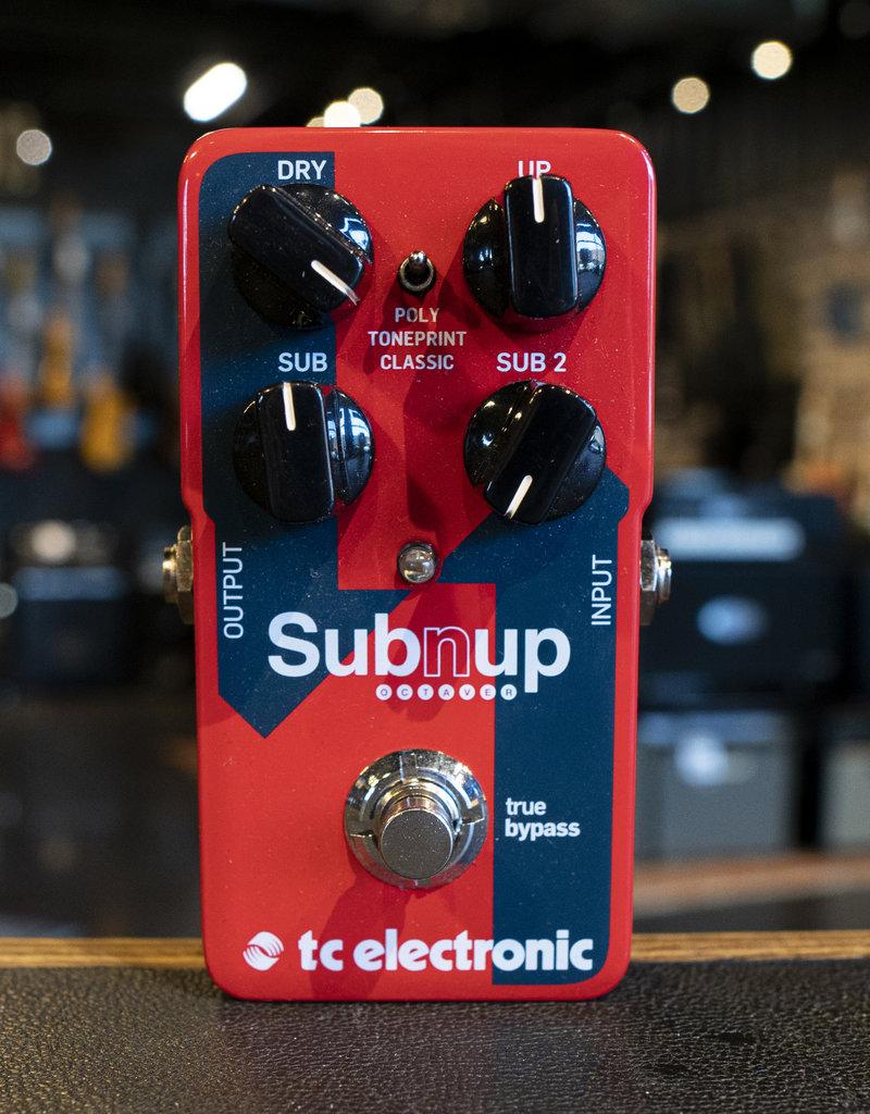 TC Electronic TC Electronic Sub 'N' Up Octaver Dual Octave Pedal