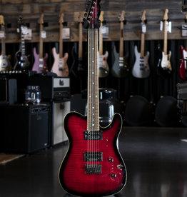 Fender Fender Special Edition Custom Telecaster FMT HH, Laurel Fingerboard, Black Cherry Burst