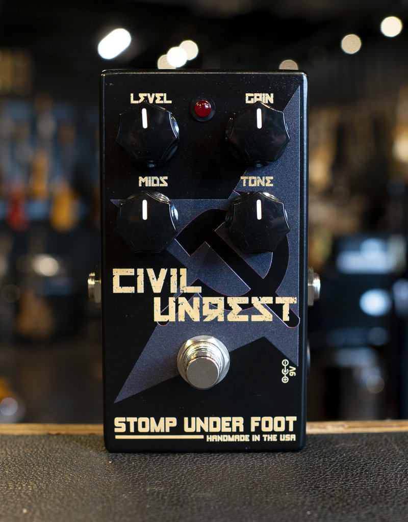 Stomp Under Foot Stomp Under Foot Civil Unrest Fuzz Pedal