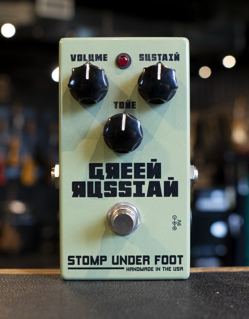 Stomp Under Foot Stomp Under Foot Green Russian Pedal