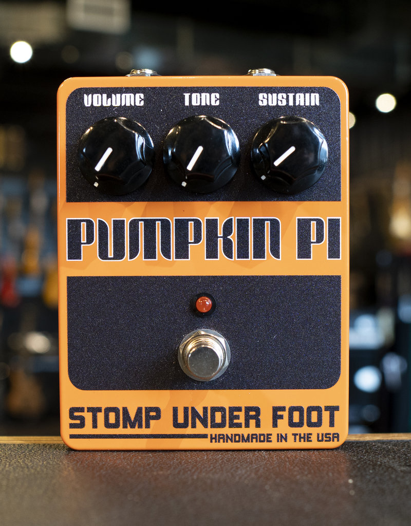 Stomp Under Foot Stomp Under Foot Pumpkin Pi Pedal