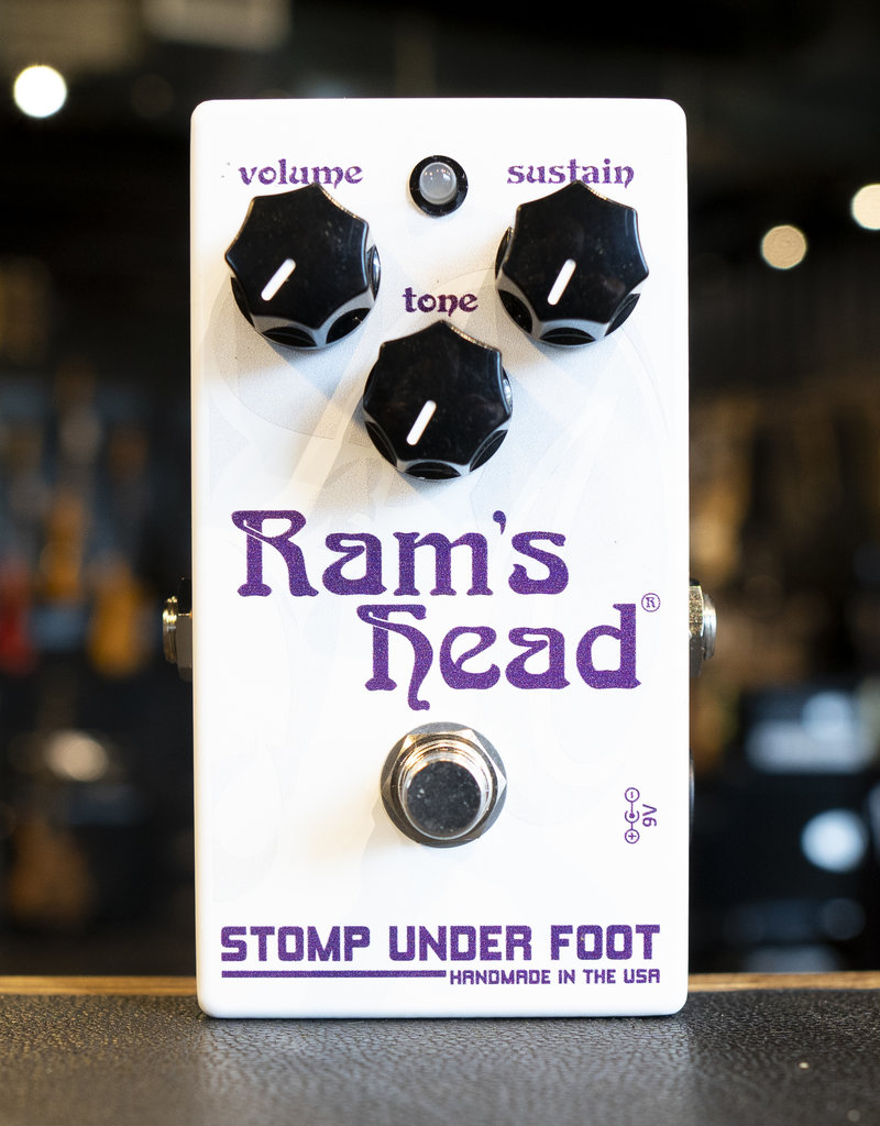 Stomp Under Foot Stomp Under Foot Ram's Head Pedal
