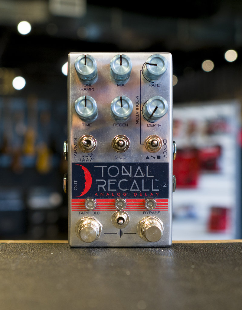 Chase Bliss Audio Chase Bliss Audio Tonal Recall Delay Effects Pedal