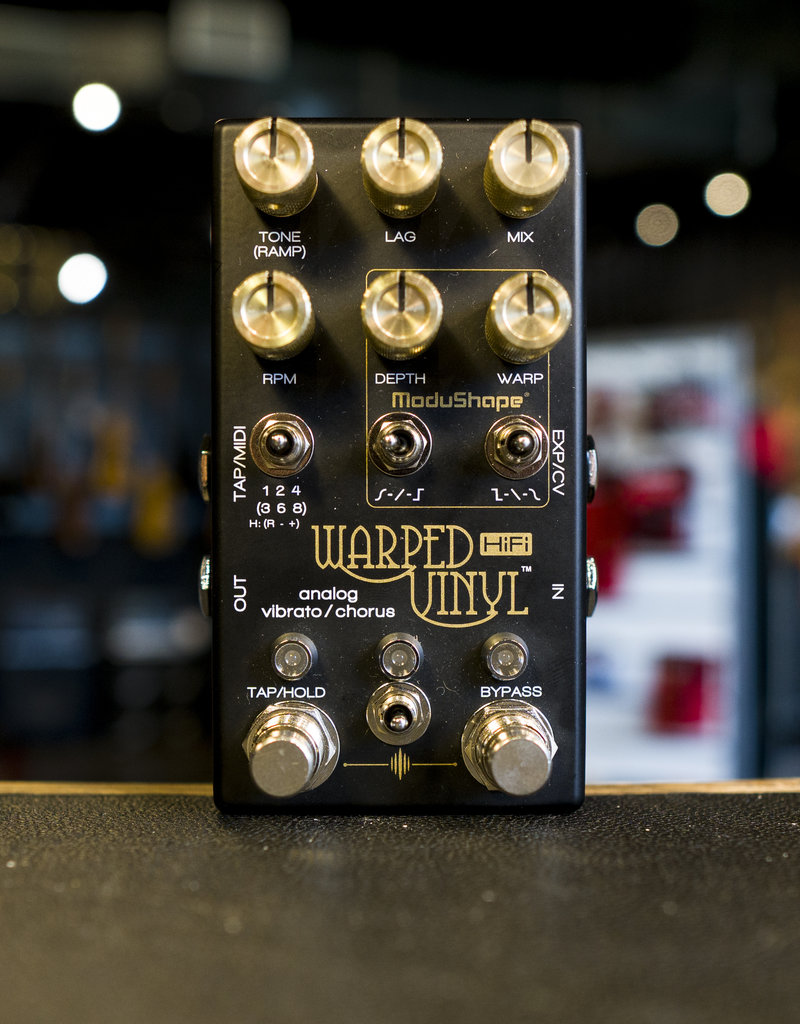 Chase Bliss Audio Chase Bliss Audio Warped Vinyl HiFi Effects Pedal