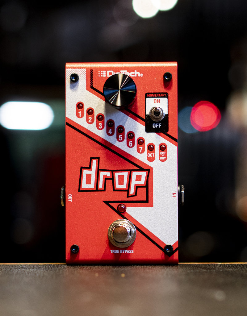 Digitech Digitech Drop Polyphonic Drop Tune Pitch-Shift Pedal