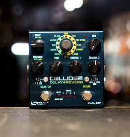 Source Audio Source Audio Collider Delay+Reverb Effects Pedal