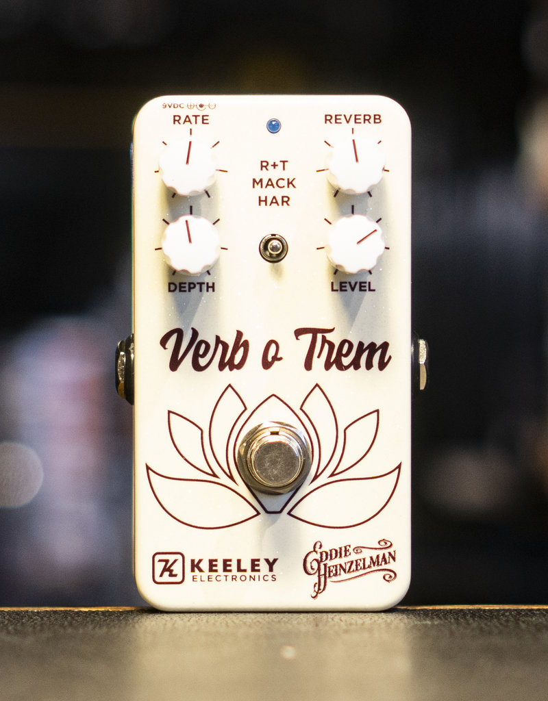 Keeley Keeley Verb o Trem Eddie Heinzelman Reverb/Tremolo Pedal