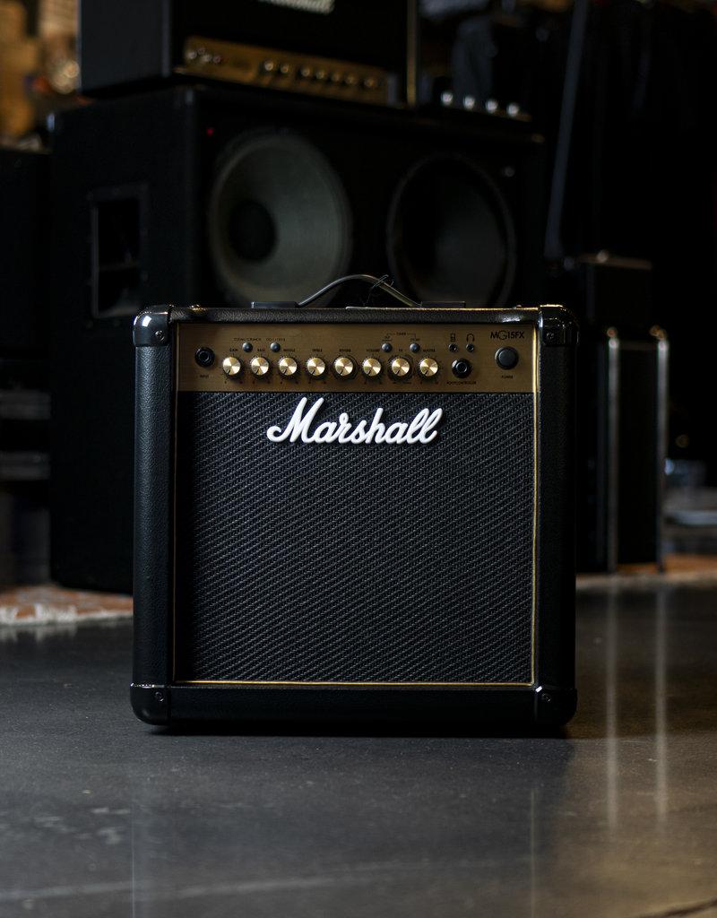 Marshall Marshall MG15CFX 15W 1x8 Combo Amp