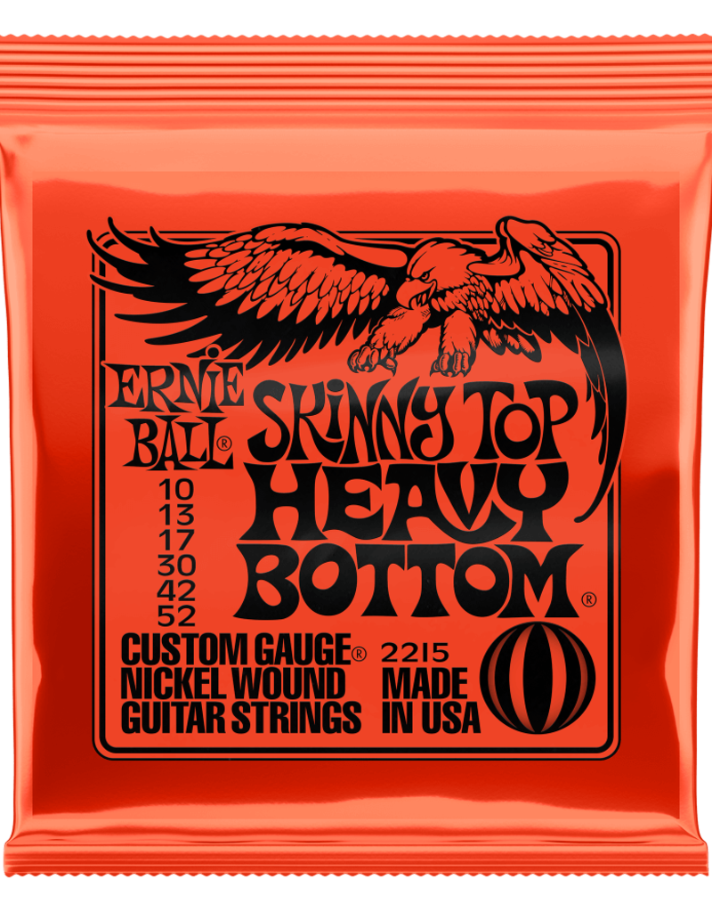 Ernie Ball Ernie Ball 2215 Skinny Top Heavy Bottom Slinky Nickel Wound Electric Guitar Strings - .010-.052
