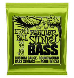 Ernie Ball Ernie Ball 2832 Regular Slinky Nickel Wound Electric Bass Strings - .050-.105