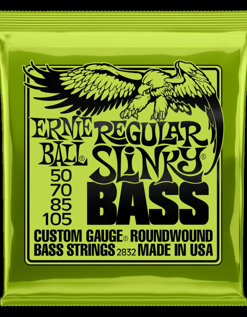 Ernie Ball Ernie Ball 2832 Regular Slinky Nickel Wound Electric Bass Strings - .050-.105
