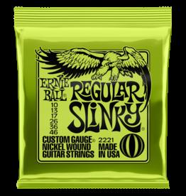 Ernie Ball Ernie Ball 2221 Regular Slinky Nickel Wound Electric Guitar Strings - .010-.046