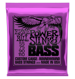 Ernie Ball Ernie Ball 2831 Power Slinky Nickel Wound Electric Bass Strings - .055-.110