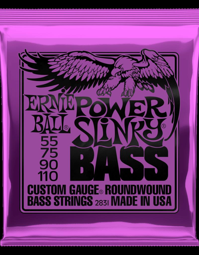 Ernie Ball Ernie Ball 2831 Power Slinky Nickel Wound Electric Bass Strings - .055-.110