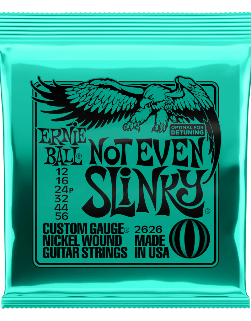 Ernie Ball Ernie Ball 2626 Not Even Slinky Nickel Wound Electric Guitar Strings - .012-.056