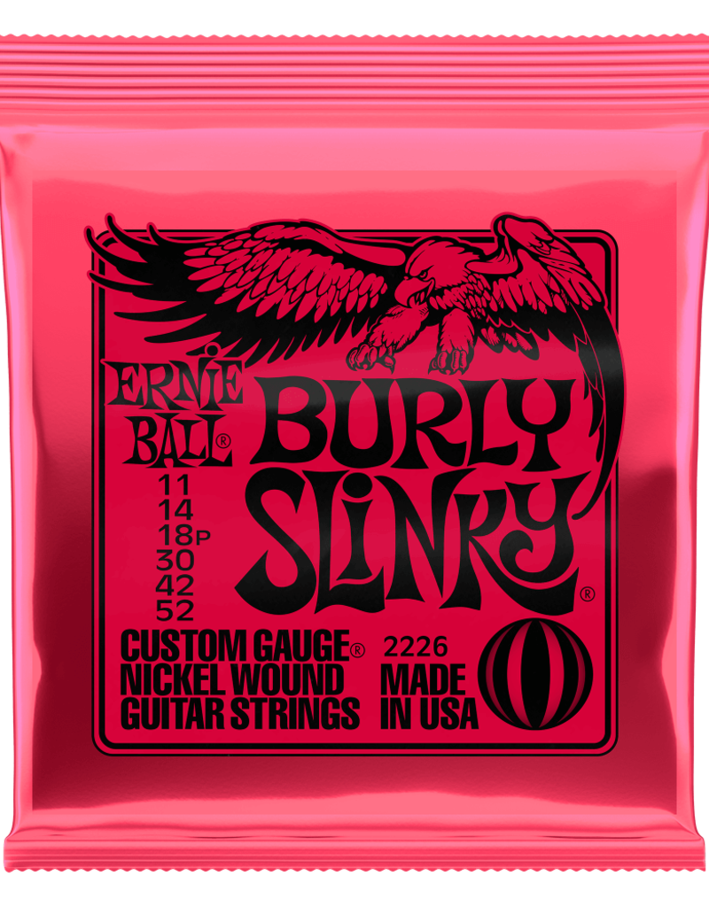 Ernie Ball Ernie Ball 2226 Burly Slinky Nickel Wound Electric Guitar Strings - .011-.052