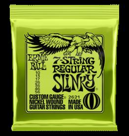 Ernie Ball Ernie Ball 2621 Regular Slinky 7-string Nickel Wound Electric Guitar Strings - .010-.056