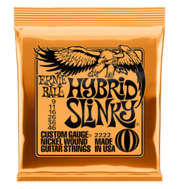 Ernie Ball Ernie Ball 2222 Hybrid Slinky Nickel Wound Electric Guitar Strings - .009-.046