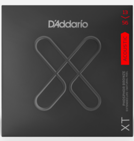 D'Addario D'Addario XTAPB1356 XT Phosphor Bronze Acoustic Guitar Strings -.013-.056 Medium