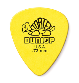 Dunlop Dunlop 418P.73 Tortex Standard .73mm Yellow Guitar Picks 12-Pack
