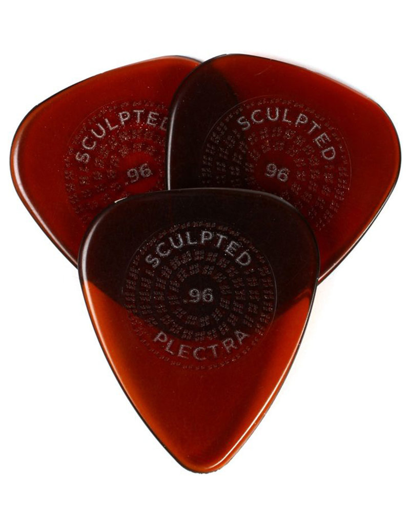 Dunlop Dunlop Primetone Standard .96mm Sculpted Plectra Grip - 3 Pack