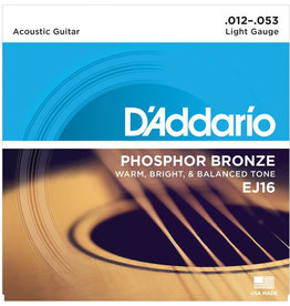 D'Addario D'Addario EJ16 Phosphor Bronze Light Acoustic Strings