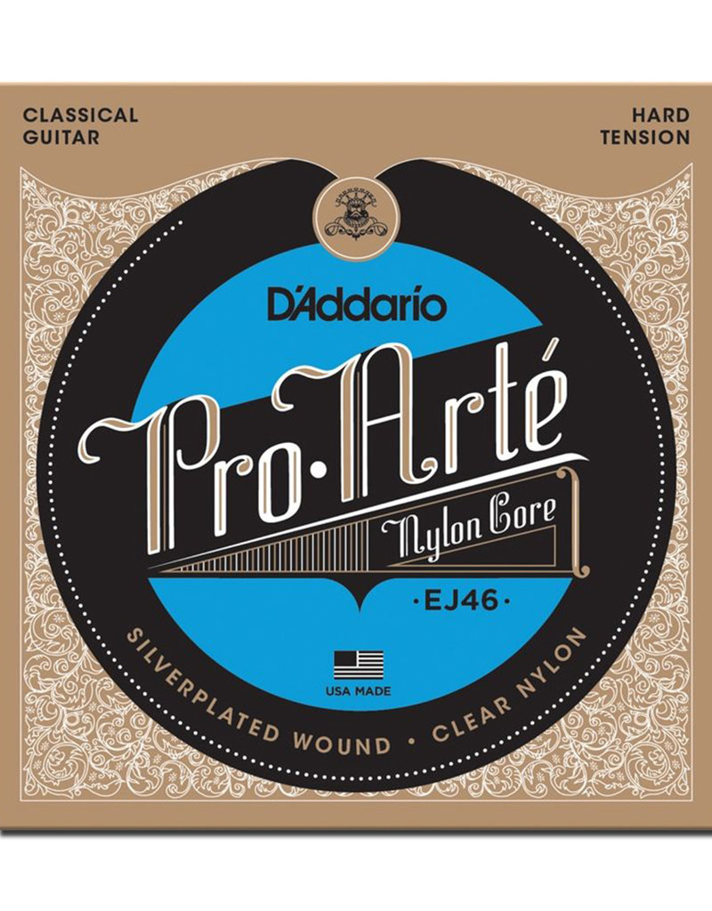 D'Addario D'Addario EJ46 Pro-Arte Classical Guitar Strings - Hard Tension