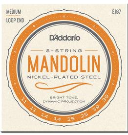 D'Addario D'Addario EJ67 Nickel Wound Mandolin Strings .011-.039