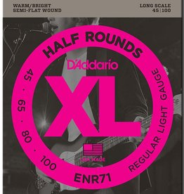 D'Addario D'Addario ENR71 Half Rounds Light Bass Strings