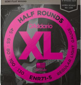 D'Addario D'Addario ENR71 5 Half Rounds Light 5 String Bass Strings
